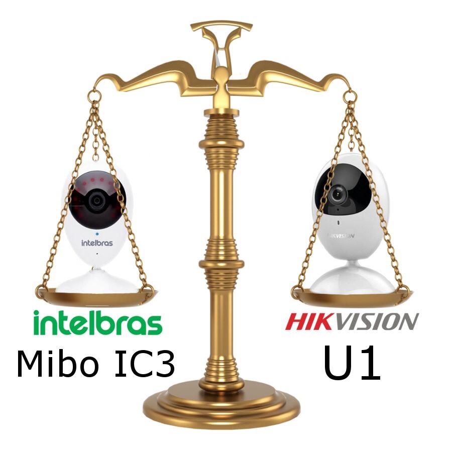 Tudo sobre câmeras Wireless Intelbras Mibo e Hikvision U1