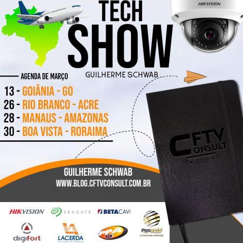 Agenda Tecshow Brasil Março 2019